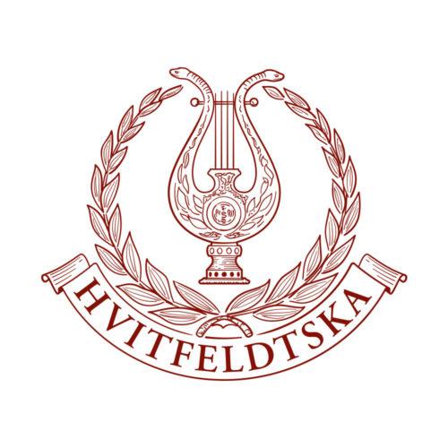 Hvitfeldtska logotyp